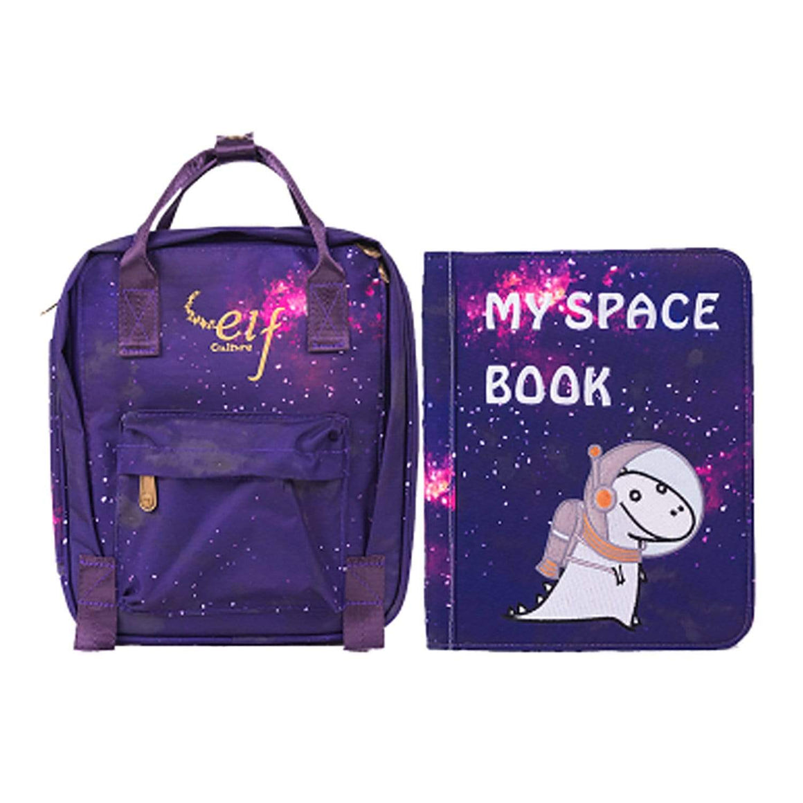 ELF Culture My First Book 3 – My Space Book - Galaxy Purple 太空系列 (紫色)