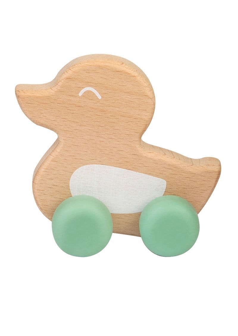 "Saro Baby Madrid- NATURE TOY ""DUCKY"" Teether- Mint 小鴨咬咬玩具"