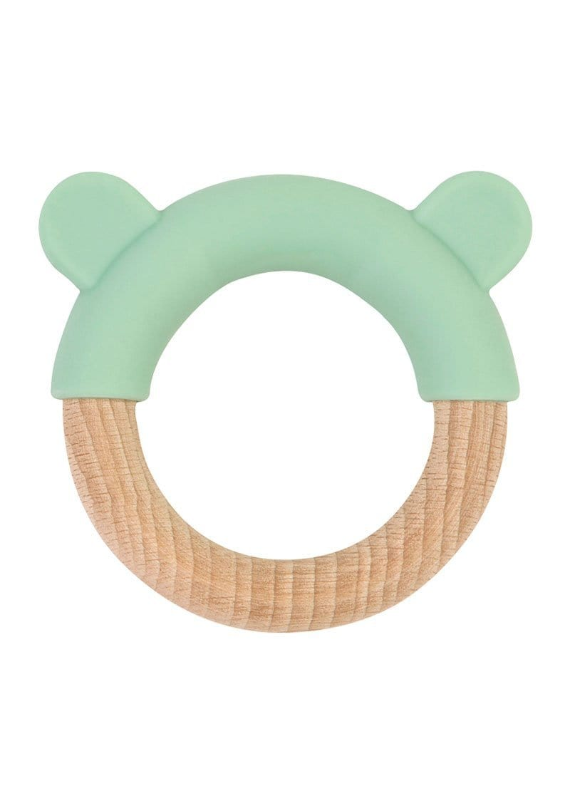 "Saro Baby Madrid- NATURE TOY ""LITTLE EARS"" Teether- Mint  咬咬小耳牙膠玩具"