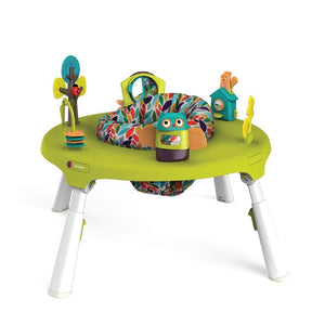 Oribel PortaPlay - 2 in 1 Convertible Activity Center - Forest Friends 2合1玩具活動坐椅-森林之友