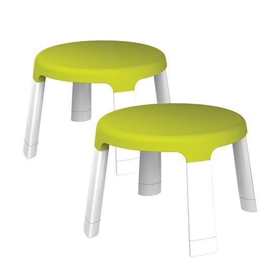 Oribel PortaPlay Child Stool Set of 2 (Green) - Forest Friends (兒童櫈)