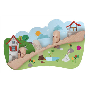 Oribel VertiPlay Wall Toy - Jack & Jill 貼牆玩具-滾滾小山坡