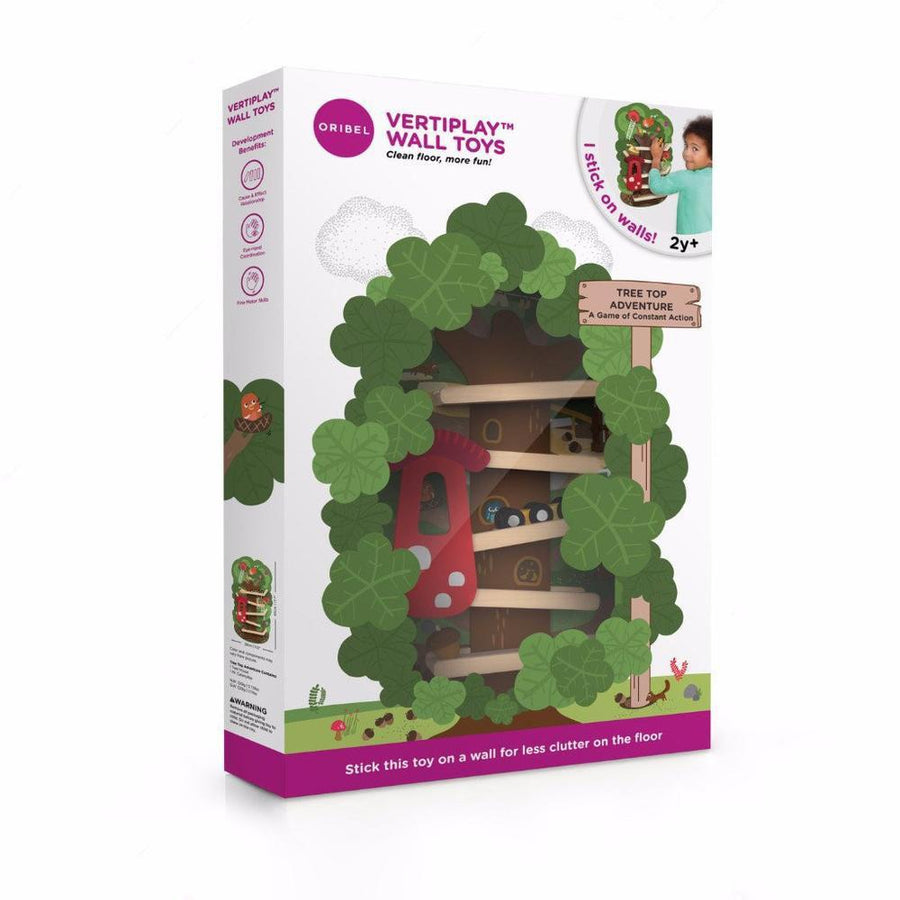 Oribel VertiPlay Wall Toy - Tree Top Adventure 貼牆玩具- 樹頂歷險