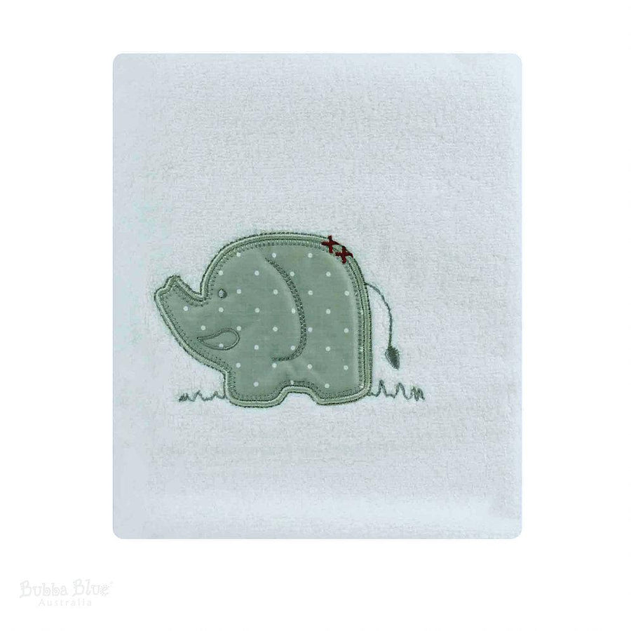Bubba Blue Australia Petit Elephant Bath Towel (澳洲Bubba Blue 休閒大笨象系列-浴巾)