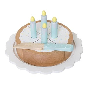 Bloomingville Denmark- Play Set, Cake, Multi-color, Lotus 丹麥品牌木製蛋糕兒童玩具