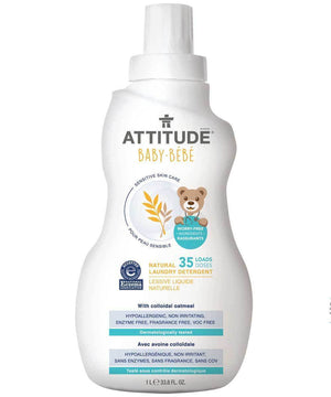 Attitude Canada- Sensitive Skin BABY Laundry Detergent ( Ezcema Friendly) 1L(敏感肌嬰兒專用洗衣液-濕疹肌膚適用)