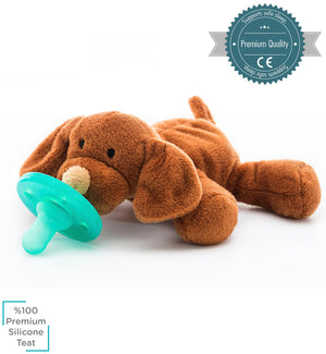 Minikoioi Turkey Sleep Buddy-Puppy 土耳其Minikoioi安撫奶嘴-啡狗