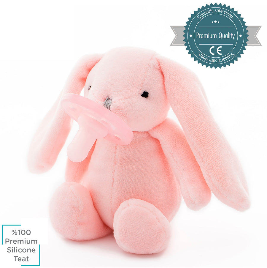 Minikoioi Turkey Sleep Buddy-Pink Bunny 土耳其Minikoioi安撫奶嘴- 粉紅兔