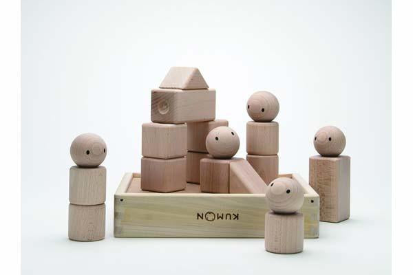 Kumon Toys Japan- 1st Wooden Blocks (4+ months) 日本公民數Kumon 木制積木 (4個月或以上)