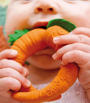 Oli & Carol Barcelona-CATHY THE CARROT Teether 西班牙Oli & Carol天然橡膠牙膠