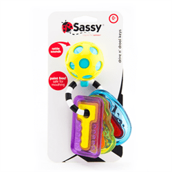 Sassy Baby USA- Drive N Drool Keys 美國Sassy Baby嬰兒玩具
