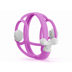 Mombella- Snail Rattle Teether- Purple 嬰兒牙膠