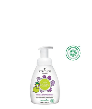 Attitude Canada- Little Leaves Foaming Hand Soap- Vanilla & Pear 295 ml(兒童泡泡洗手液-雲呢拿+梨味)