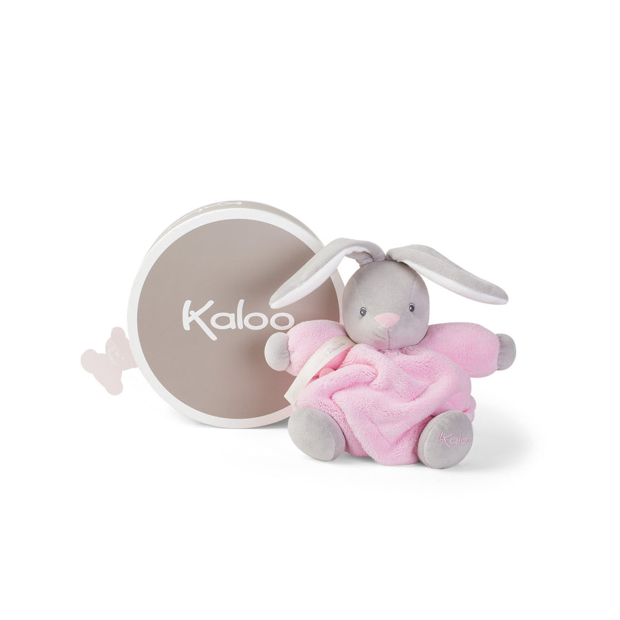 Kaloo France- Plume Small Pink Chubby Rabbit 法國品牌Kaloo 小兔(粉紅色)