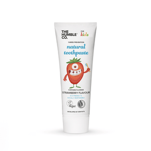 The Humble Co. Sweden- Natural Toothpaste – Kids Strawberry 瑞典品牌士多啤梨味兒童牙膏