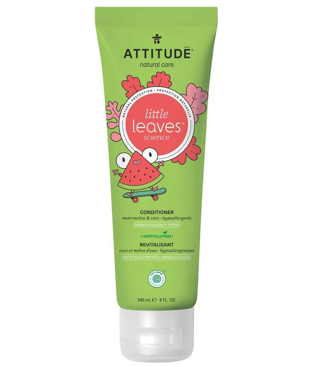Attitude Canada- Little Leaves Conditioner-Watermelon & Coco 240 ml(兒童護髮素-西瓜椰子味)