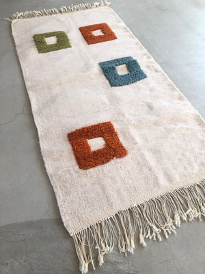 SQ FLUFFY RAG 135×68
