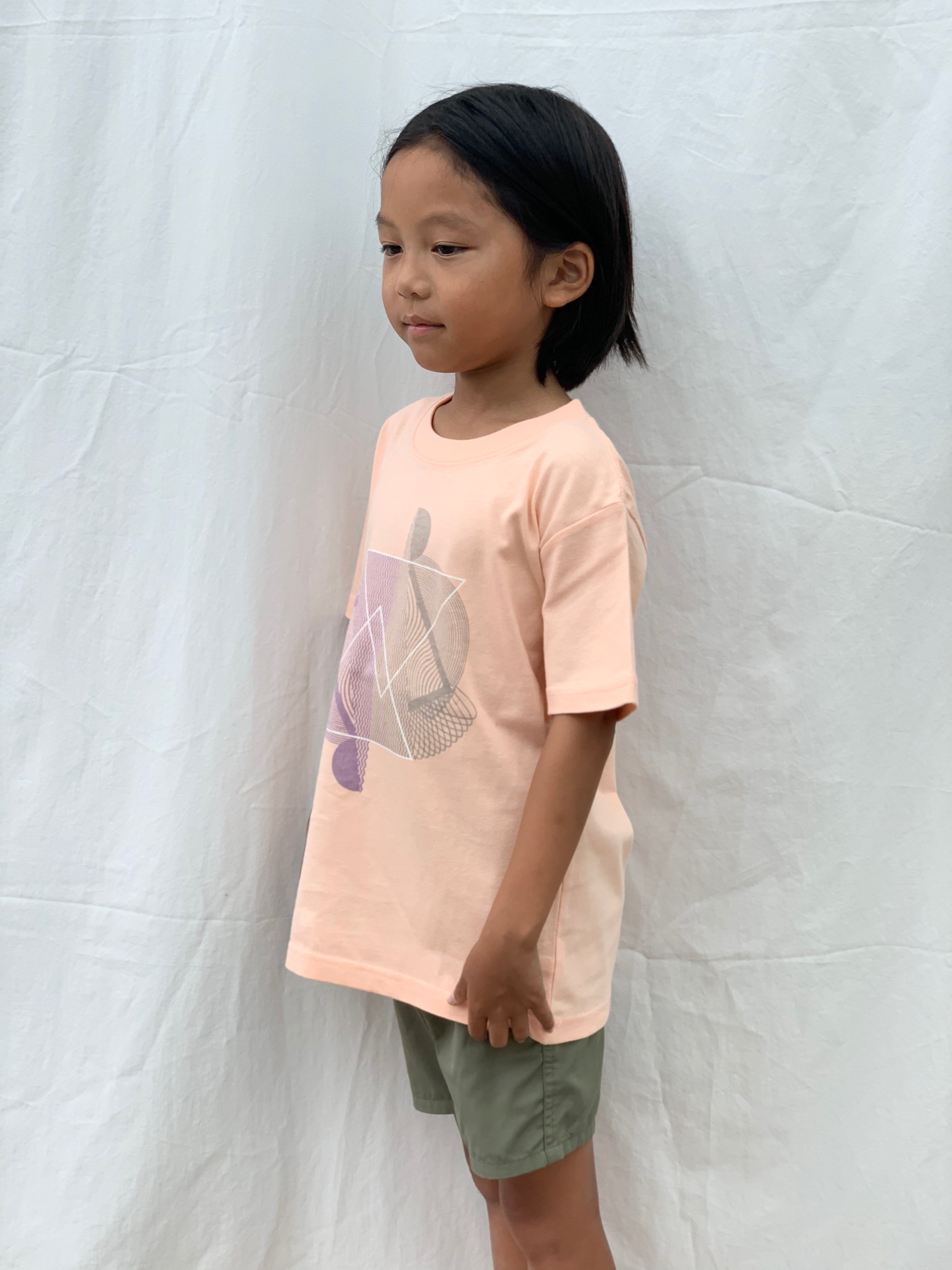 Cloudy kids T(Pink)