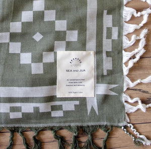 Organic Jacguard cloth peace