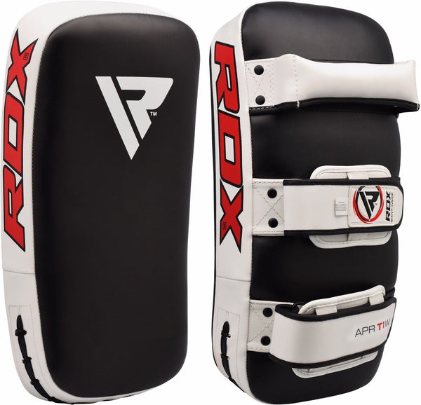 RDX T1 Curved Thai Pad - White - FIGHTsupply
