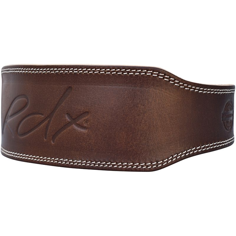 RDX 4 Inch Leather Weightlifting Belt - FIGHTsupply