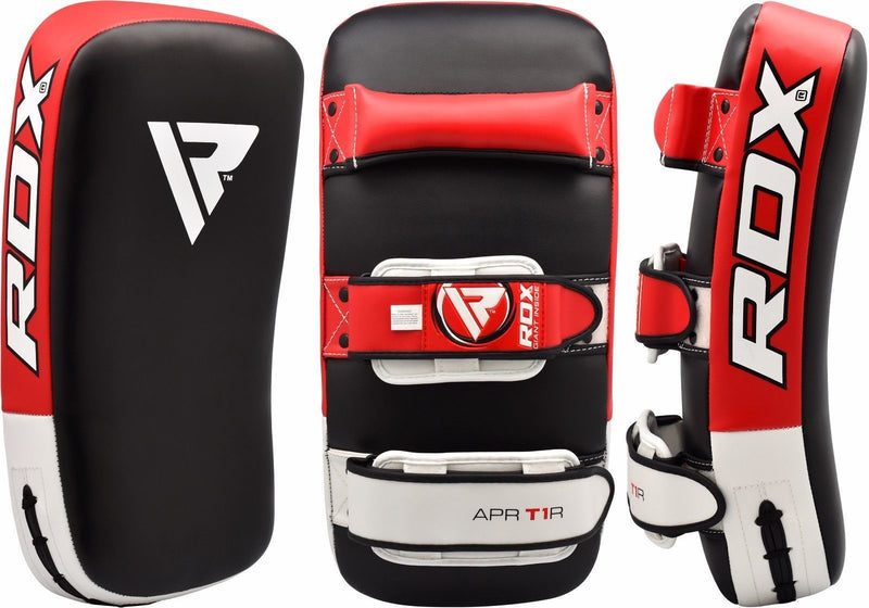 RDX T1 Curved Thai Pad - Red - FIGHTsupply