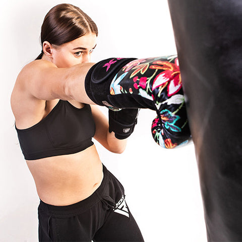 RDX FL3 Floral Boxing Gloves