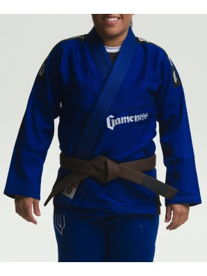 Gameness Female Pearl Gi - Blue