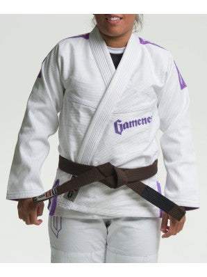 Female Pearl Gi - Pink & Violet - FIGHTsupply