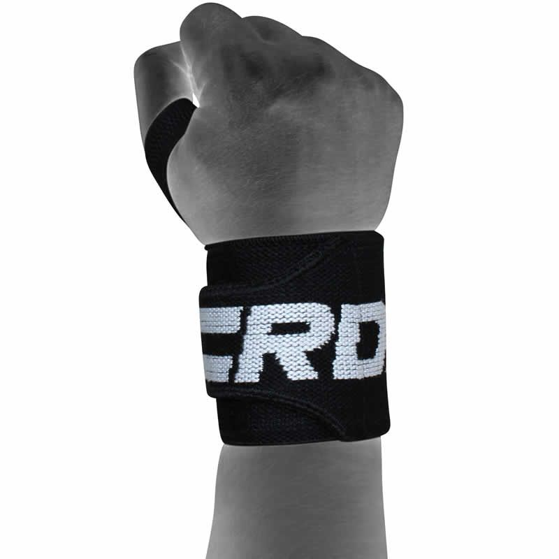 W2 Weight & Power Lifting Wrist Wraps w/Thumb Loops
