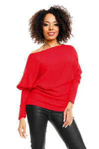 Bat style blouse model 84279 PeeKaBoo