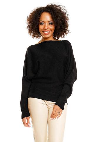 Bat style blouse model 84284 PeeKaBoo