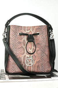 Trunk handbag model 123275 Manzana