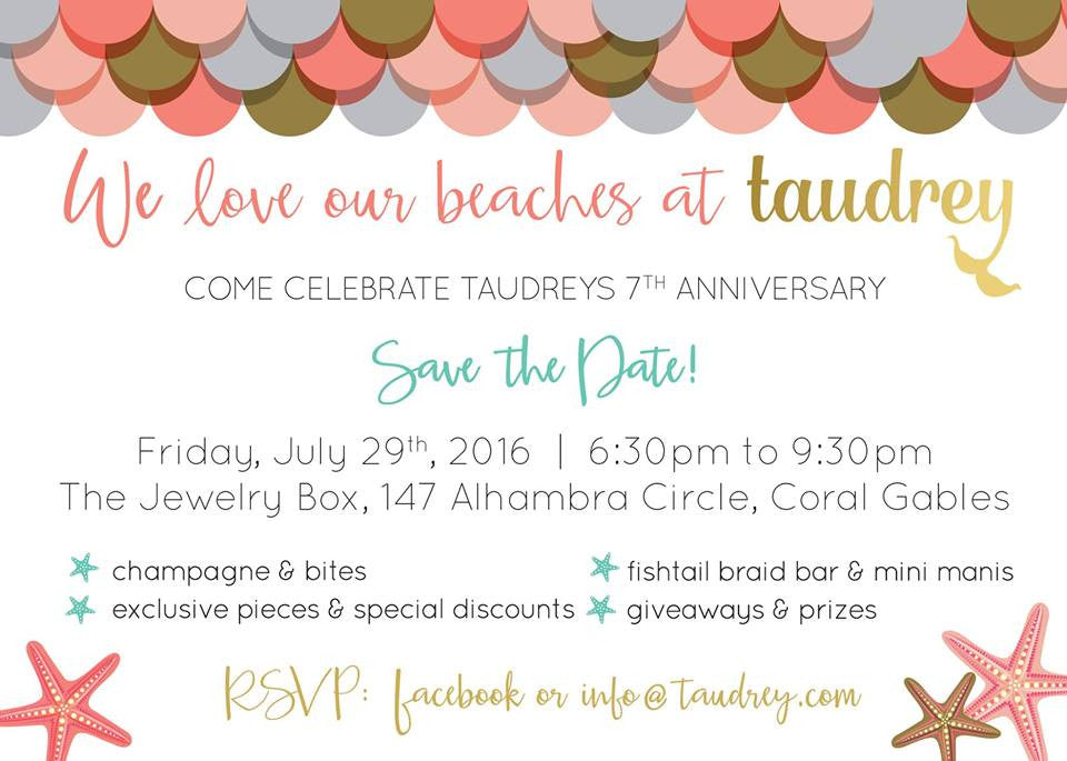 Taudrey's 7th Anniversary Party