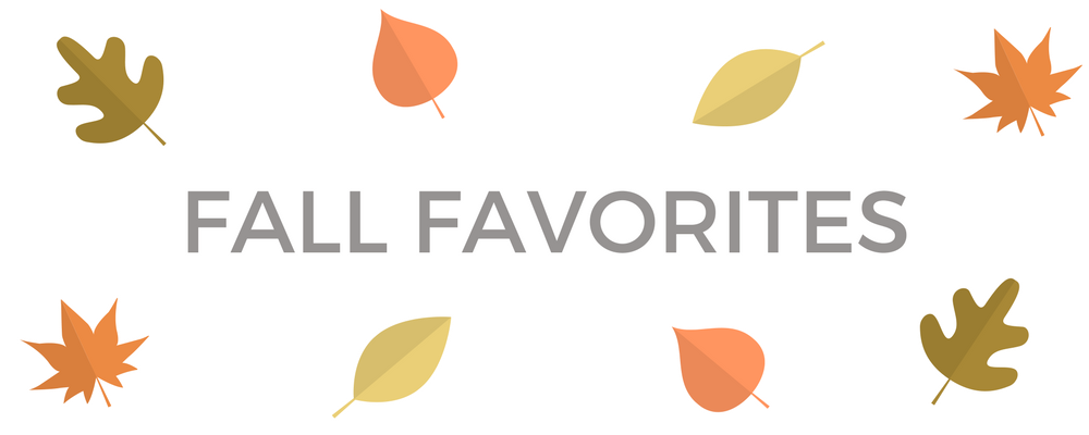 The #taudsquad's Fall Favorites