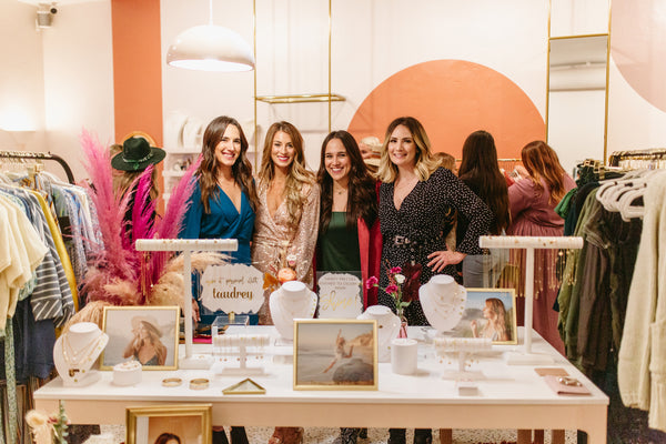 taudrey blog post 2019 recap tenley leopold shine collection launch swirl boutique carlsbad ca