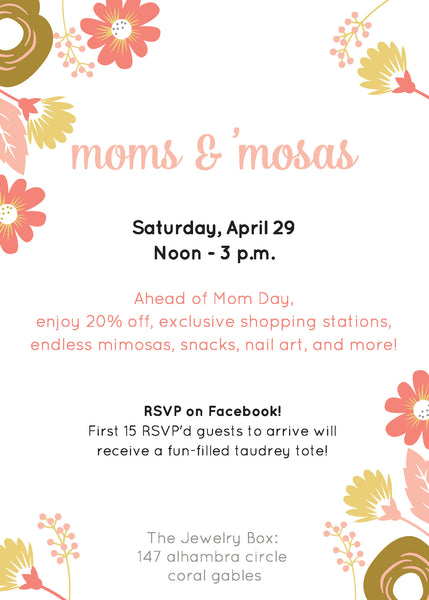 taudrey moms and mosas event mother's day