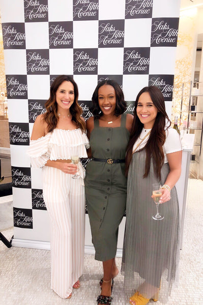 taudrey 2019 recap saks fifth avenue pop up