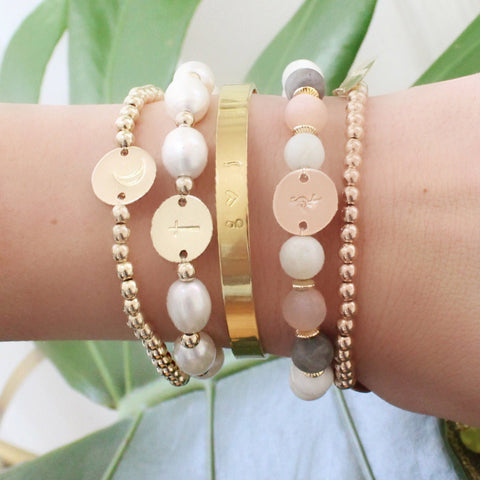 taudrey spring favorites arm party