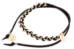 taudrey twist of fate bracelet suede wrap