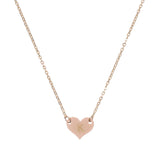 Taudrey Gold Petite Heart Necklace