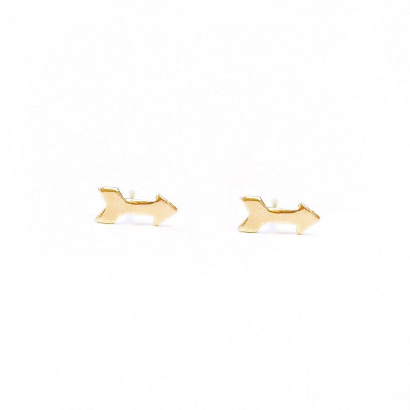 Love Struck Arrow Studs