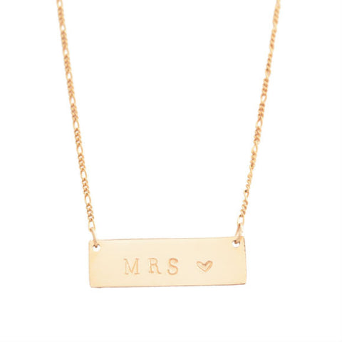 TAudrey Mrs Plate With Heart