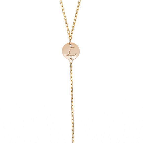 Taudrey Blogger Collection Lush to Blush Y-Chain Necklace