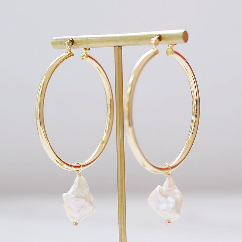 Great Catch Hoop Earrings