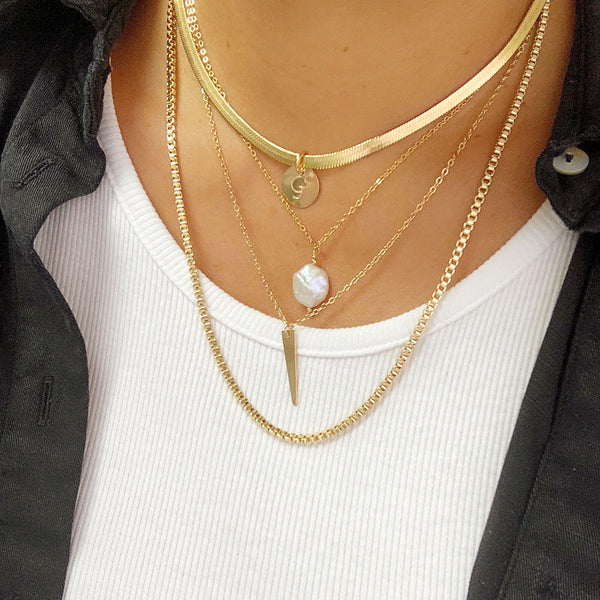 Moves Like Dagger Necklace