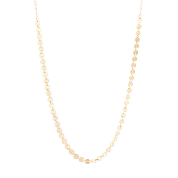 taudrey athena micro charm dainty necklace gold rose gold