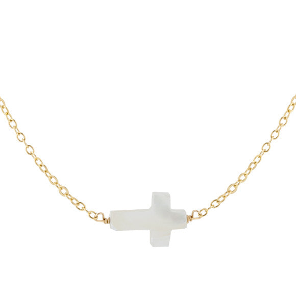 taudrey kids girls blessed necklace bracelet set pearl cross communion