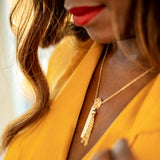 taudrey blogger collection collaboration piece alicia tenise chew gold necklace personalized charms