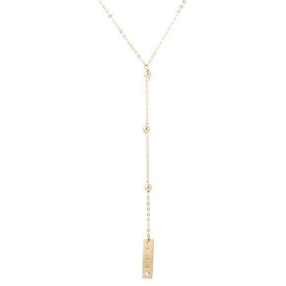 taudrey blogger collection olivia rodriguez hello olivia hollywood necklace personalized gold